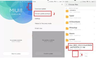 Cara Flash Xiaomi Redmi 7