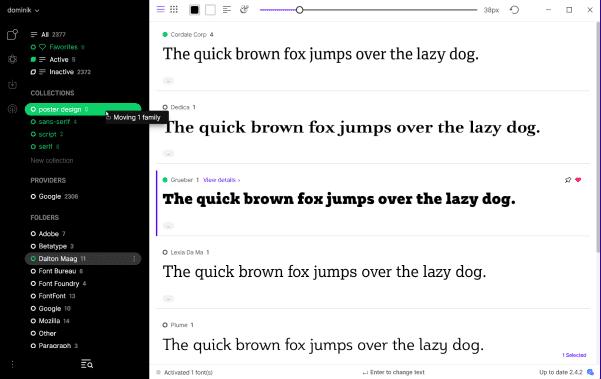 Perangkat Lunak Manajemen Font Terbaik Untuk Mac