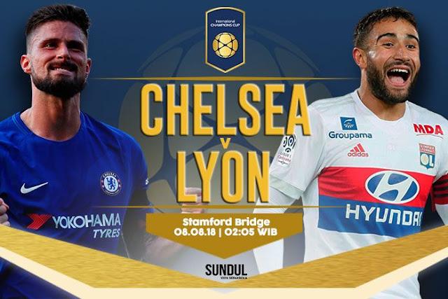 Nhận định, soi kèo Chelsea vs Lyon, 2h00 ngày 08/08, ICC Cup 2018