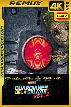 Guardianes de la galaxia Vol 2 (2017) 4k BDRemux HDR Latino – Ingles