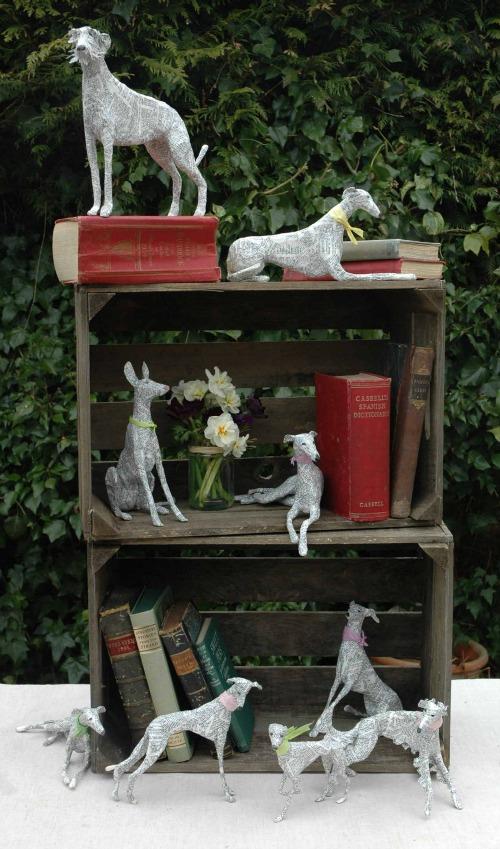 paper-dog-sculptures