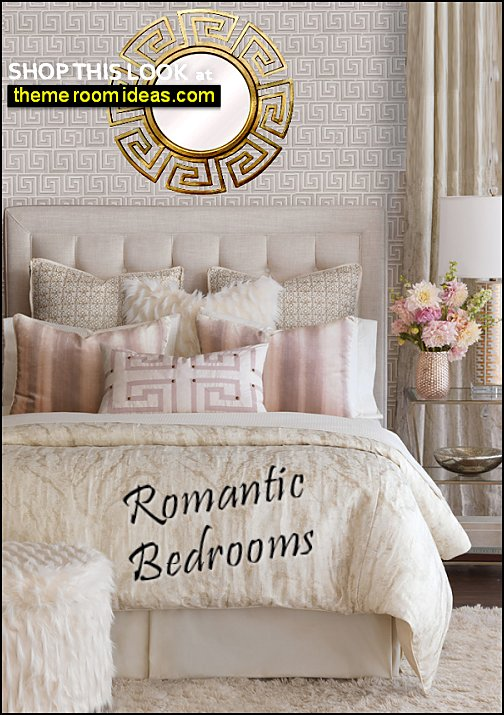 Halo Comforter romantic bedroom decorating ideas glam bedroom decor faux fur bedding