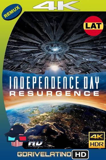 Día de la Independencia: Contraataque (2016) BDRemux 4K HDR Latino-Ingles MKV