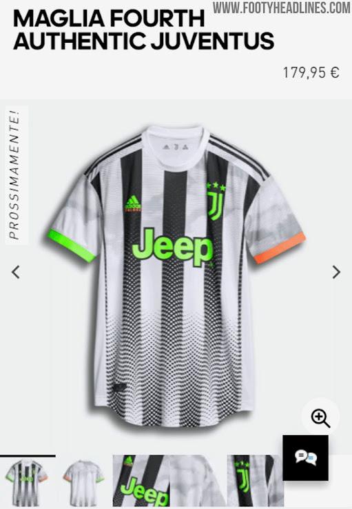 Retails At Insane 180 Euro Adidas Juventus Palace 19 20 Fourth