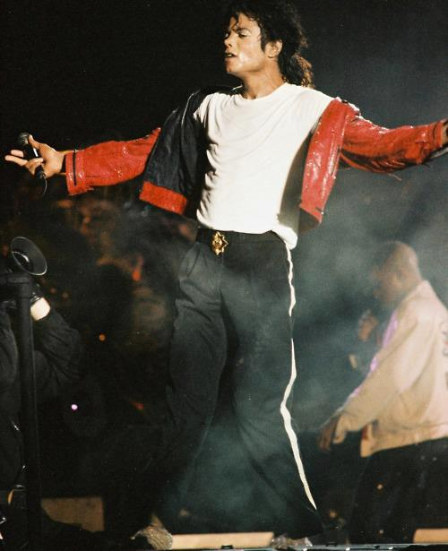 Michael Jackson BAD WORLD TOUR 1987 1988 Vintage Everyday