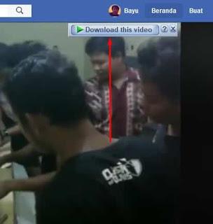cara download video facebook pc