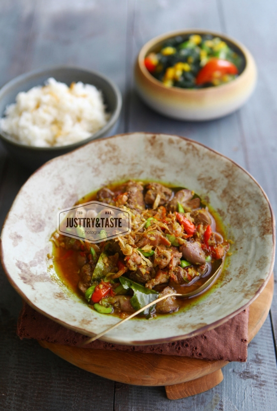Resep Oseng Mercon Hati Ampela Ayam & Bersyukur