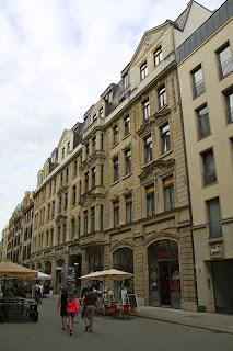 Oelßners Hof Leipzig, Eingang Nikolaistrasse