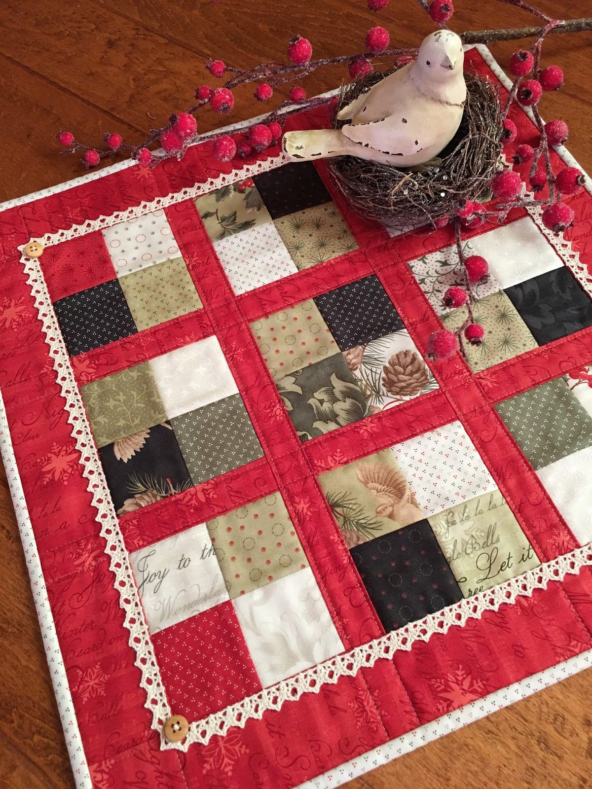 Carried Away Quilting: Coffee Time Quilt for Christmas : quilt for christmas - Adamdwight.com