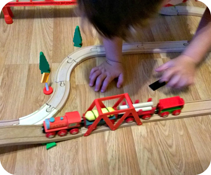 Bigjigs Rail Supplies Train