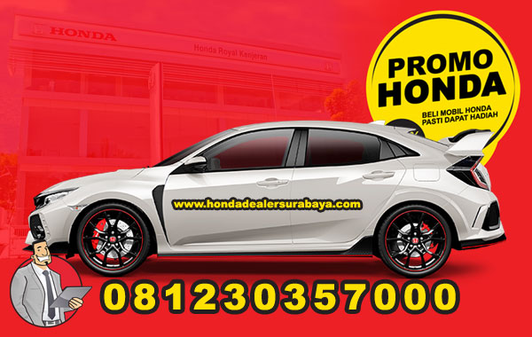 Promo Honda Type R Surabaya
