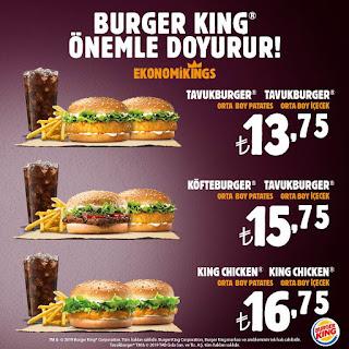 burger king restoran kampanya ve fırsatları
