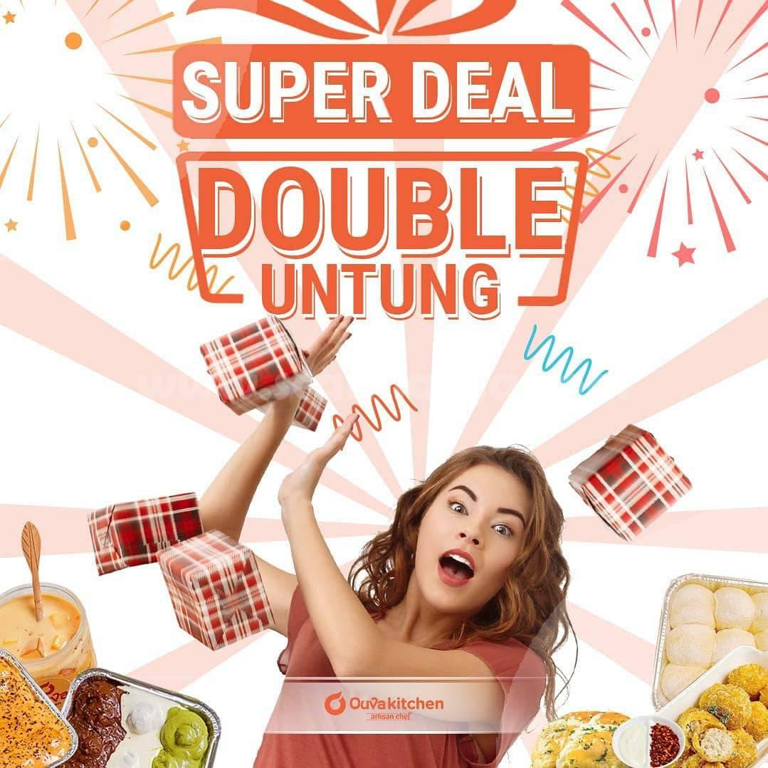 Promo Ouva Kitchen Super Deal Double Untung