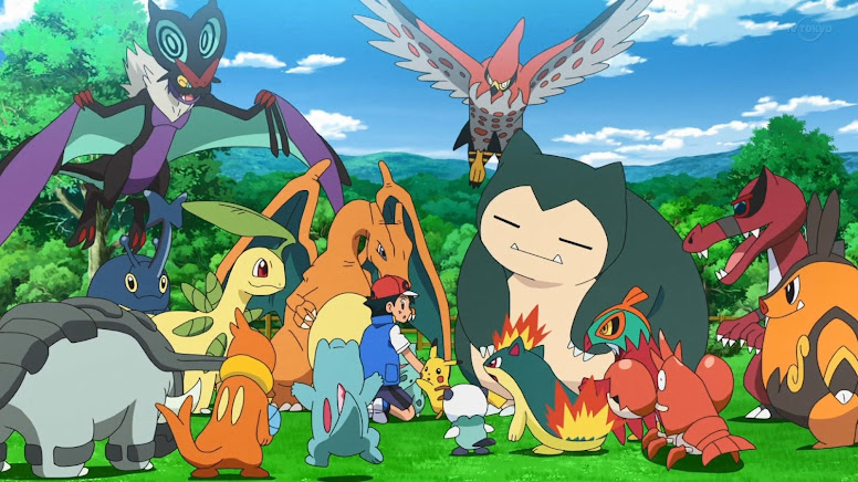 Ash e seus Pokémon Anime