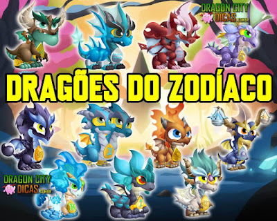 Os Incríveis Dragões do Zodíaco - Dragon City