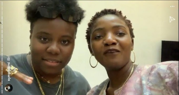 Simi And Teni Meet, Set To Drop New Song Together (Photos)