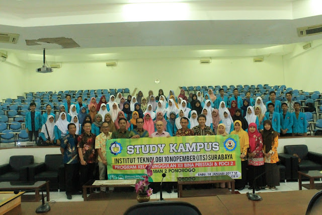 BP dan PDCI, Study Kampus ke ITS Surabaya