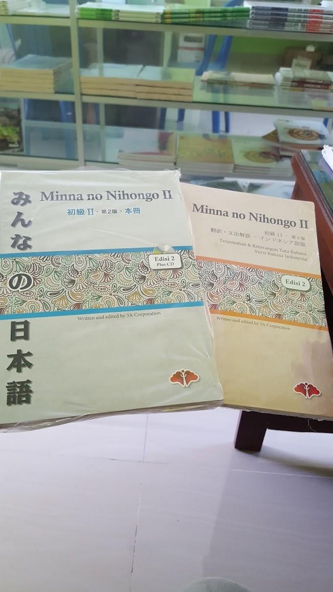 Minna No Nihongo 2 | Buku Panduan Bahasa Jepang Dasar