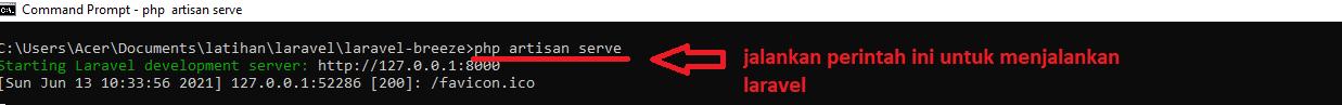 cara membuat login dan registrasi laravel 8