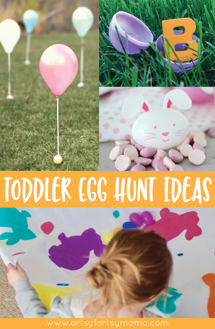 Creative Toddler Easter Egg Hunt Ideas