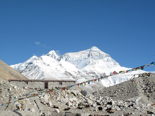 日喀則景點-珠峰大本營-珠穆朗瑪峰(珠峰)