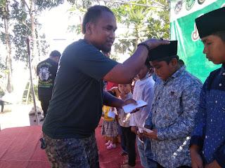 Komunitas Densus 27 Bali Korwil Curahlele Santuni Anak Yatim dan Duafa