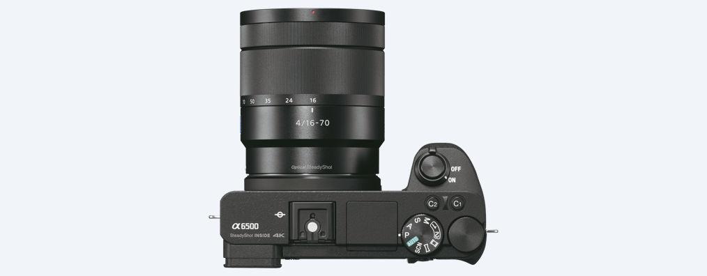 Sony A6500, вид сверху