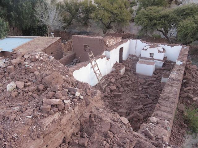 Die alte Kapelle von Casa Grande wird abgerissen