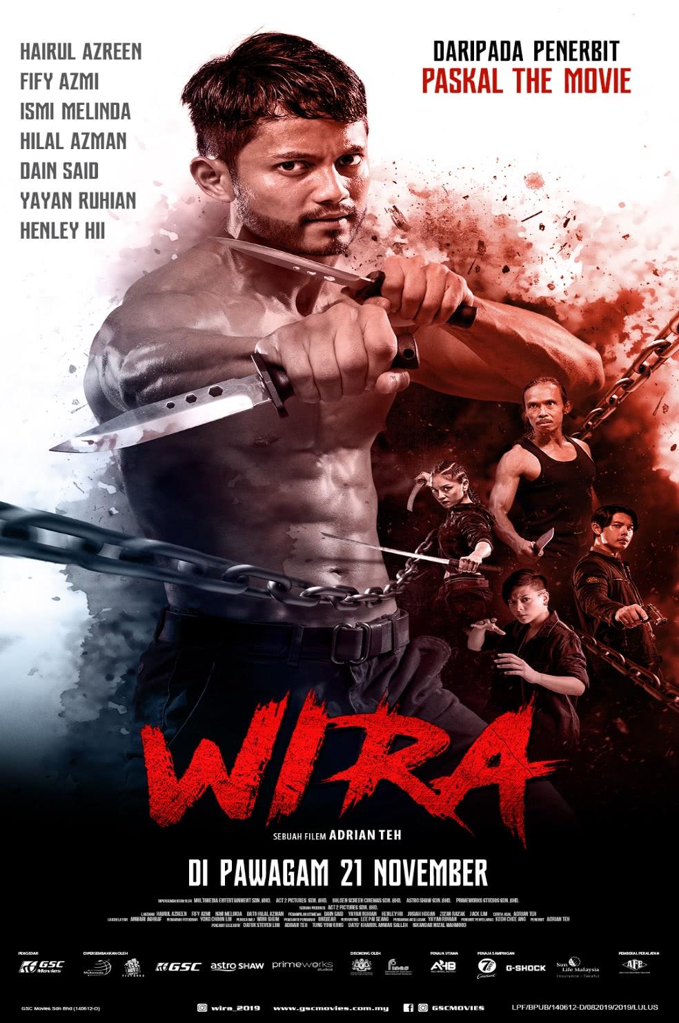 Filem Wira lakonan Hairul Azreen dan Fify Azmi