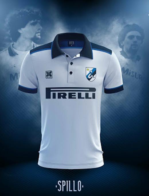 Prototipo seconda maglia Inter, stagione 2017/18