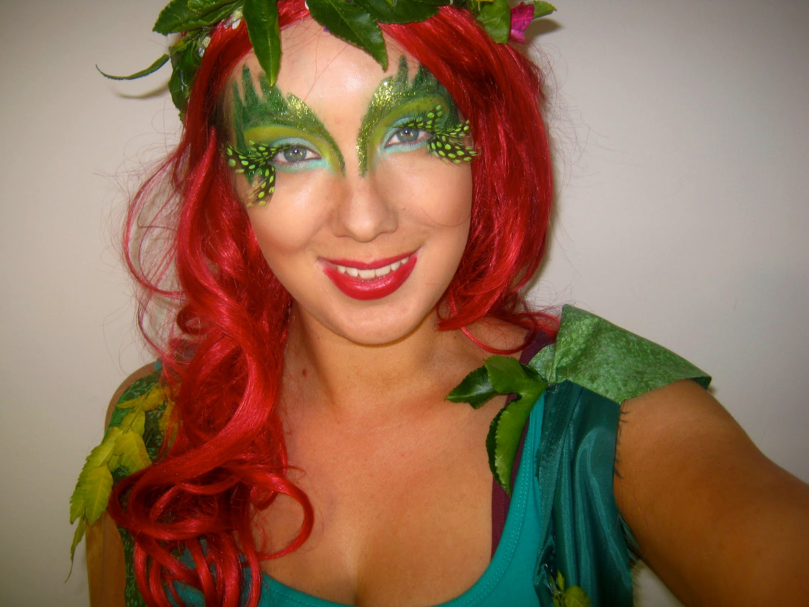 poison ivy costume tutorial