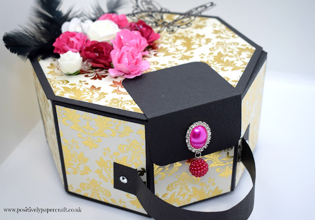 Positivelypapercraft Hexagon vanity style case
