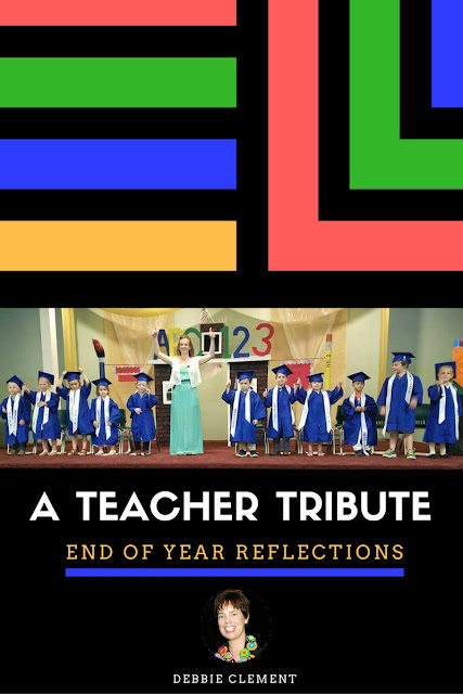 A Teacher Tribute: End of Year Reflections (Begin with the End in Mind) iMovie by Debbie Clement