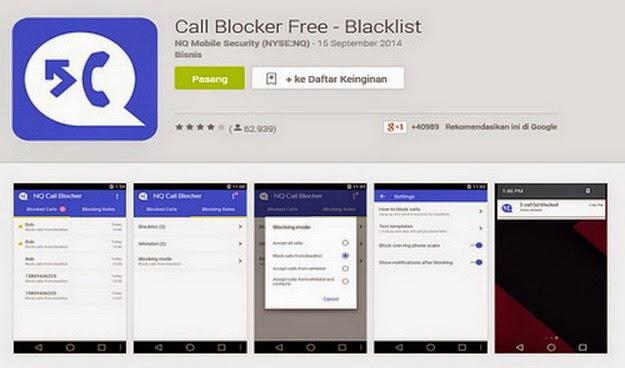 Aplikasi Blockir Otomatis Telephone Dan Sms Blog Tentang