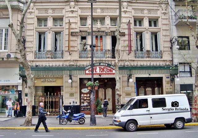 Cafe Tortoni - Academia Nacional del Tango - Buenos Aires