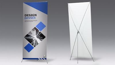 Ukuran Cetak Banner Mulai Dari 60 Cm X 160 Cm dan 80 Cm X 200 Cm