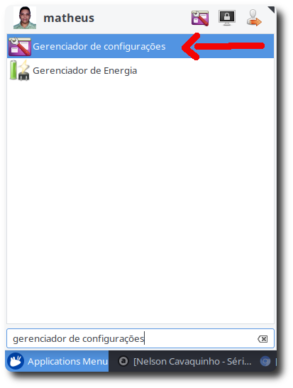 Início automático de aplicativos no Xubuntu