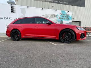 Audi RS4 Ngenco application