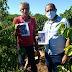 Produtores de Nova Venécia recebem orientações de prevenção ao coronavírus durante a colheita do café