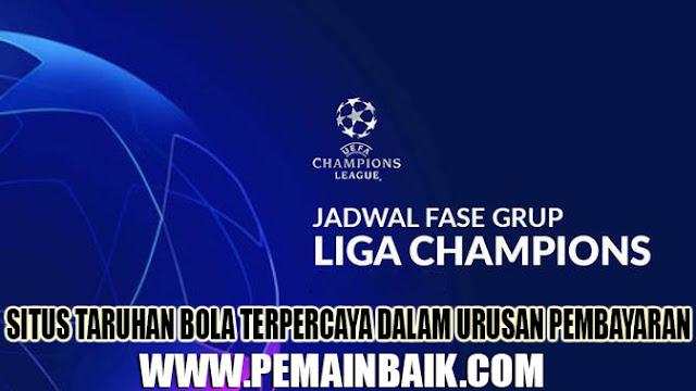 Daftar Pertandingan Liga Champions Malam Ini