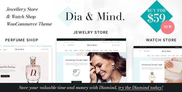 Best Jewelry & Watch Store WooCommerce WordPress Theme