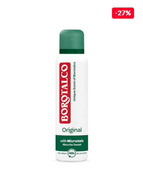 Borotalco Deodorant spray Original, 150 ml