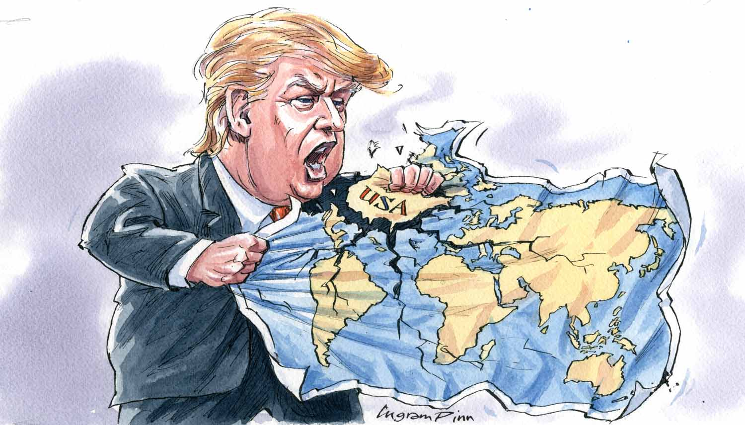 Illustrationcupboard meet ingram pinn political cartoonist for the sadly for the world the worse things get the more there is to make fun of although these surreal times often seem beyond satire gumiabroncs Choice Image