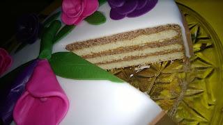 Aufgeschnittene Torte