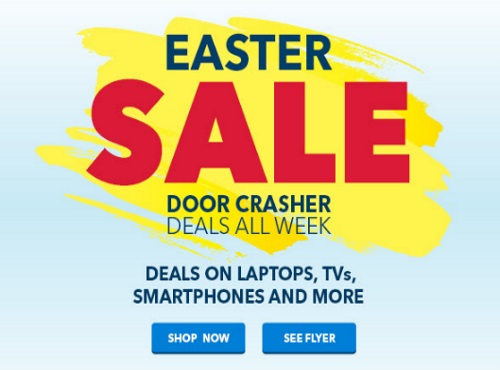 Best Buy Easter Sale Door Crasher Deals All Week
