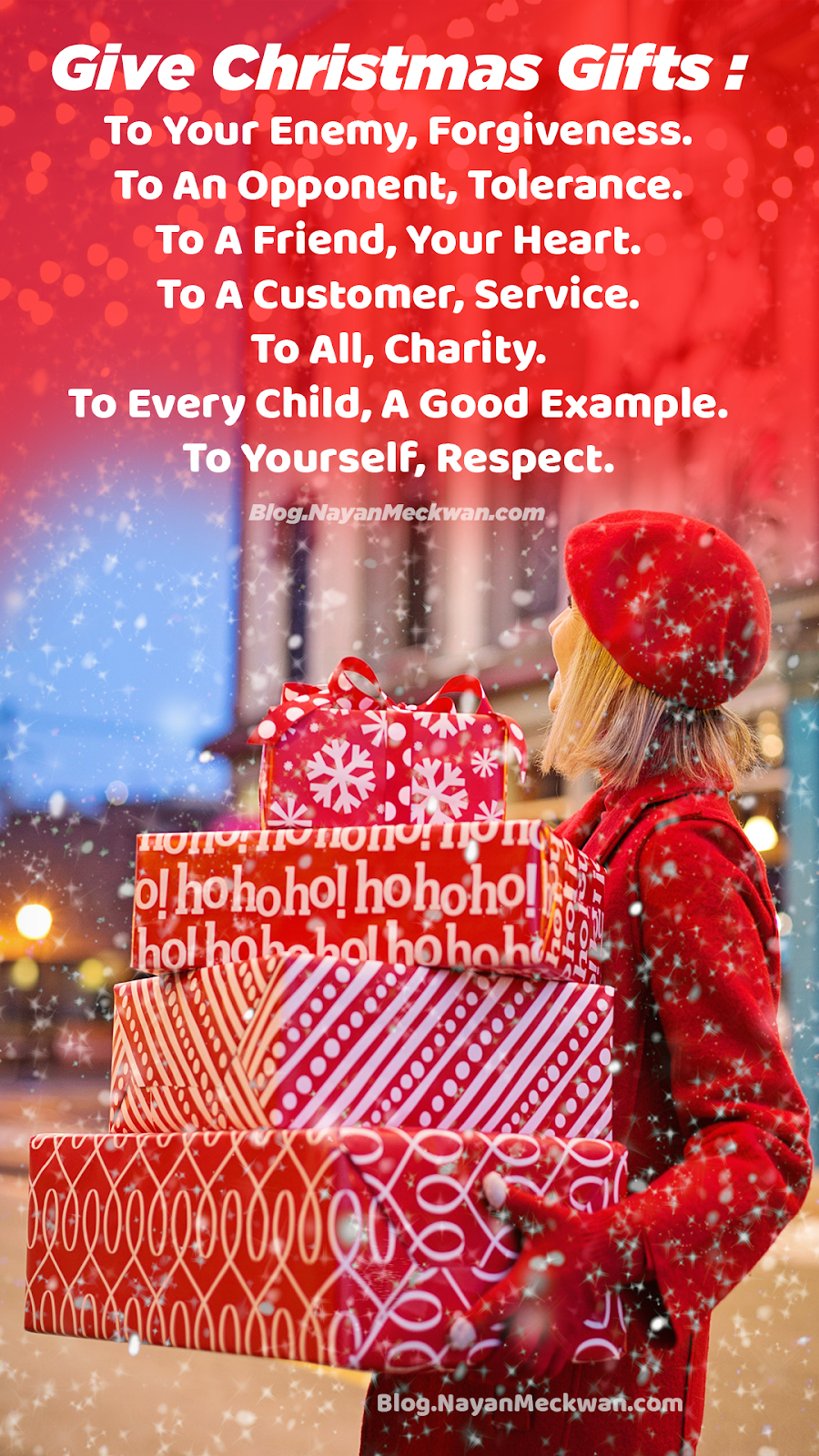 Heartwarming Christmas Gift Messages for family and friends images and Wallpapers