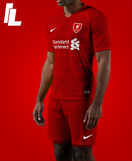 7e1437752 Nike Liverpool FC 18-19 Home, Away & Third Kit Concepts by IL ...
