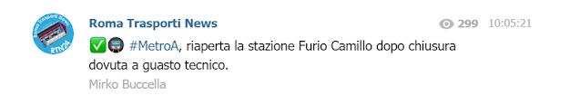 Furio Camillo funziona ancora a metà: non si può entrare