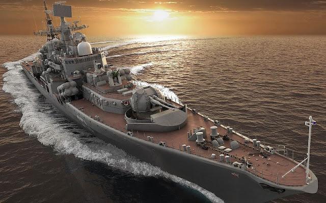 Resultado de imagen de destructor ruso Sovremenny Ekaterimburgo