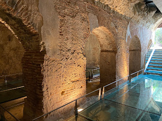 Varignano Roman Villa - cistern inside (Le Grazie, Italy)